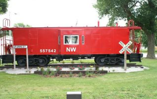 Northwestern Caboose in Forrest, IL
